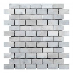 Мозаичная плитка Полир. МКР-11П (47х23) 6 мм White BI