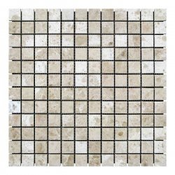 Мозаичная плитка Полир. МКР-2П (23x23) 6 мм Victoria Beige mb