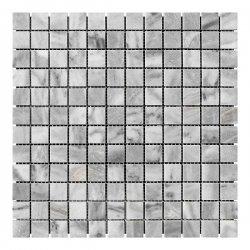 Мозаичная плитка мрамор Grey Mix (23х23x6 мм) Полированная