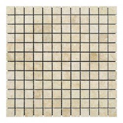 Мозаичная плитка мрамор Sunny Mix (23х23x6 мм) Полированная