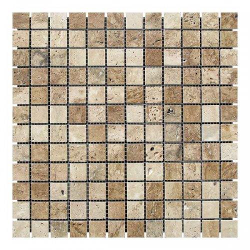 Мраморная мозаика Травертин Travertine Classic