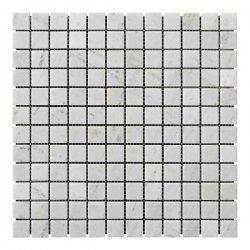 Мозаичная плитка Полир. МКР-2П (23x23) 6 мм White Mix