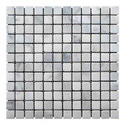 Мозаичная плитка Мозаичная плитка Стар.Валт. МКР-2СВ (23х23) 6 мм White Mix