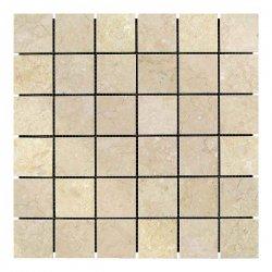 Мозаичная плитка мрамор Beige Mix   Полированная