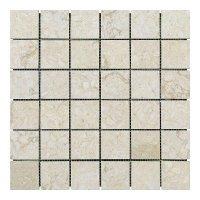 Мозаичная плитка мрамор Sunny Mix (47х47x6 мм) Полированная