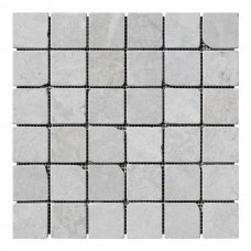 Мозаичная плитка мрамор Victoria Beige (47х47x6 мм) Стареная/Валтованная/Античная