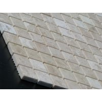 Мозаичная плитка мрамор Beige Mix (15x15x6 мм) Полированная