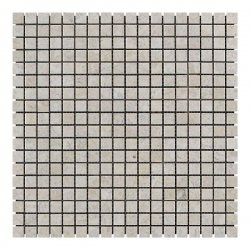 Мозаичная плитка мрамор Victoria Beige (15x15x6 мм) Полированная