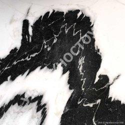Мрамор Panda White Плита 18 мм